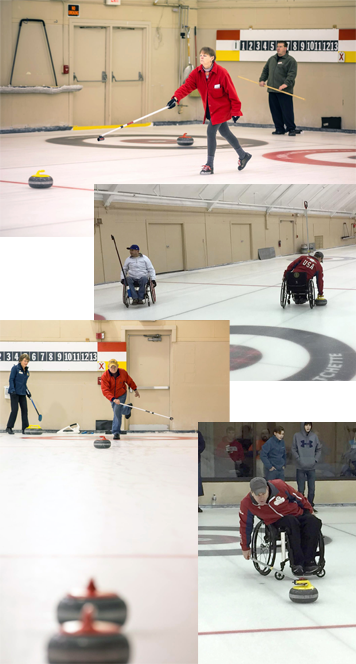 adaptive curling